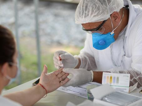Testagem em massa para identificar a Covid-19 entra na terceira semana em Barra Mansa