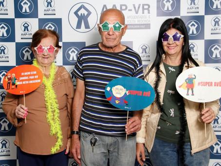 Dia dos Avós comemorado em grande estilo frequentadores do Centro Integrado da AAP-VR