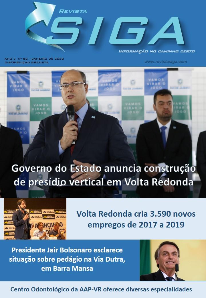 Revista Siga - Nº 63 - Janeiro 2020