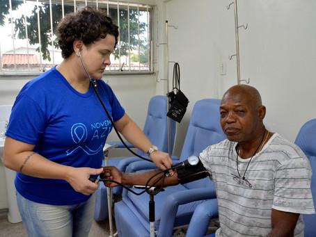 Unidades de Saúde de Volta Redonda recebem ações do Novembro Azul