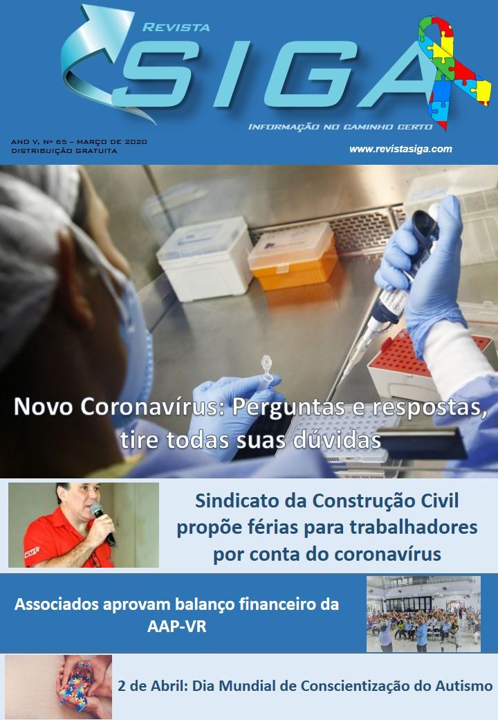 Revista Siga - Nº65 - Março 2020