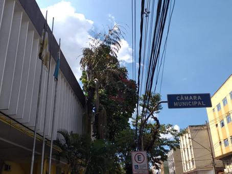 Câmara de Volta Redonda passa por sanitização