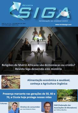 Revista Siga - 74 - Fev 2021