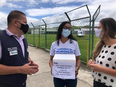 Barra do Piraí faz adesão à compra direta de vacinas pela Frente Nacional de Prefeitos