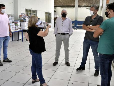 Prefeito de Barra Mansa fiscaliza unidade de ensino na Vila Ursulino