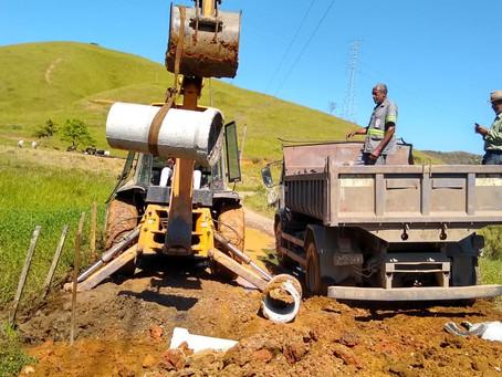 Barra Mansa realiza manutenção na Estrada Floriano X Rialto