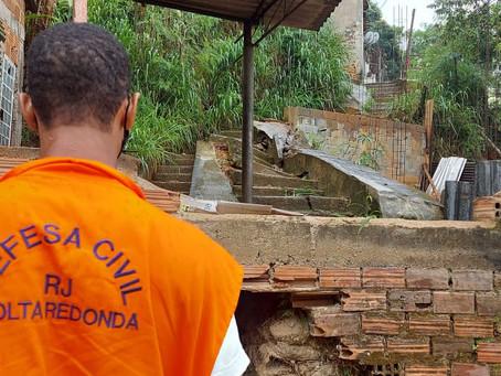 Chuvas deixam Volta Redonda e Barra Mansa em Estado de Alerta