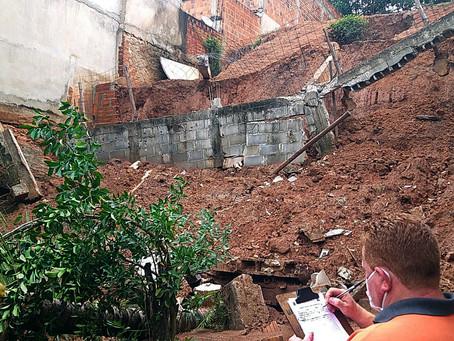 Defesa Civil de Barra Mansa intensifica ação de acompanhamento nos bairros afetados pelas chuvas