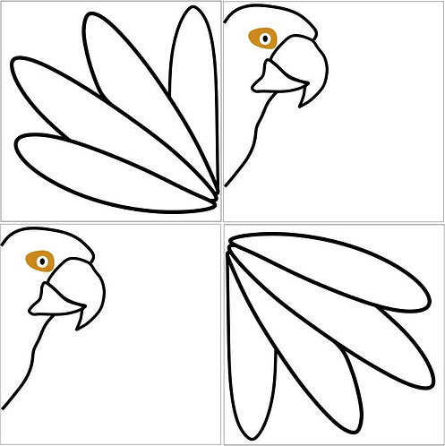 Azulejo Papagaio
