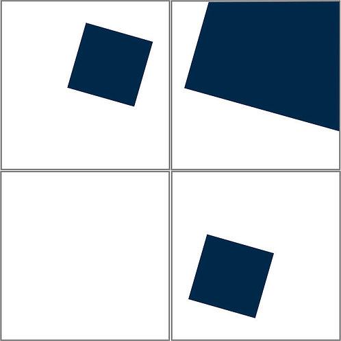 Azulejo Quadrados Infinitos