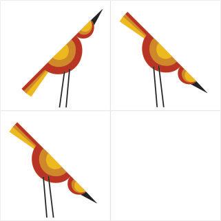 Azulejo Birdy