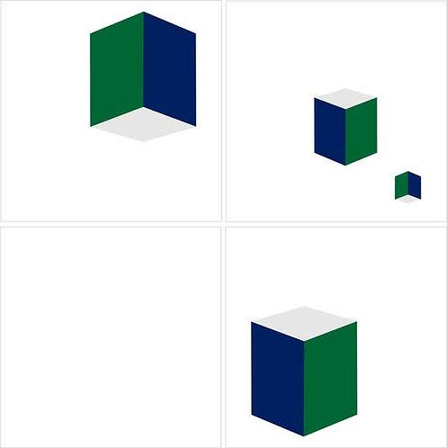 Azulejo Cubos