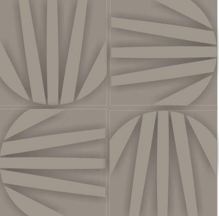 Cimentício Flor Geométrica