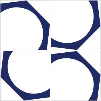 Azulejo Rosca
