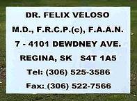 Dr. Felix Veloso Sign