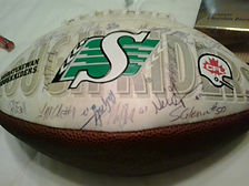 2019 Prize - Rider Signed Football