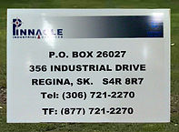 Pinnacle Industrial Services Sign