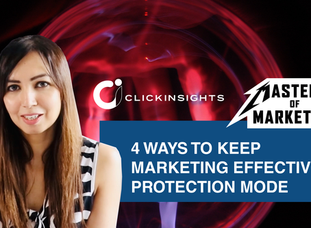 [Masters of Marketing] 4 Ways to Keep Marketing Effective in Protection Mode