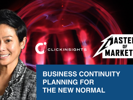 [Masters of Marketing] Business Continuity Planning for the New Normal