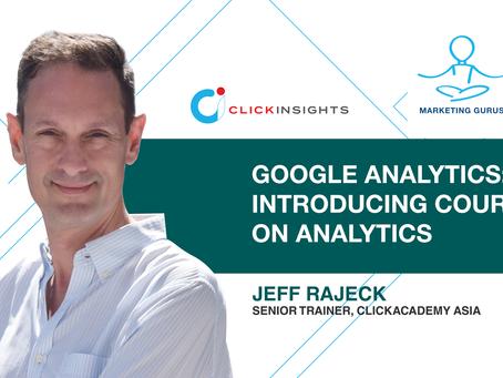 [Marketing Guru Video Series] Google Analytics: Introducing Courses on Analytics