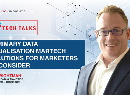 [Tech Talks] 3 Primary Data Visualisation Martech Solutions for Marketers to Consider