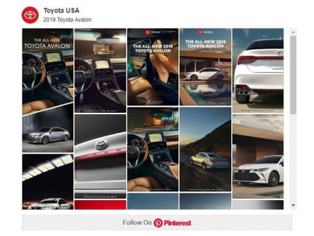 Three Outstanding Automotive Brand Awareness Campaigns from Pinterest that Got All Heads Turning