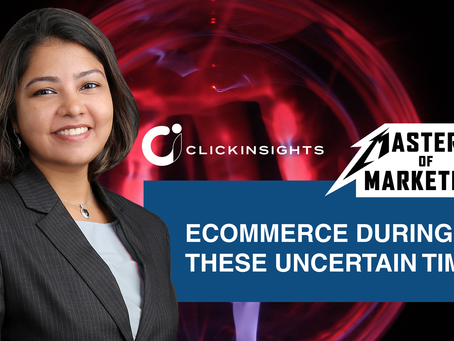 [Masters of Marketing] Ecommerce during these uncertain times