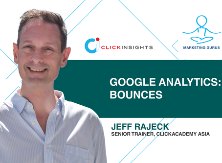 [Marketing Guru Video Series] Google Analytics: Bounces
