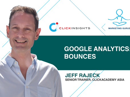 [Marketing Guru Video Series] Google Analytics: Bounces