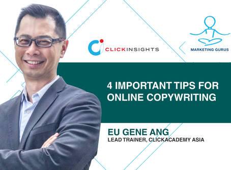 [Marketing Guru Video Series]  4 Important Tips For Online Copywriting