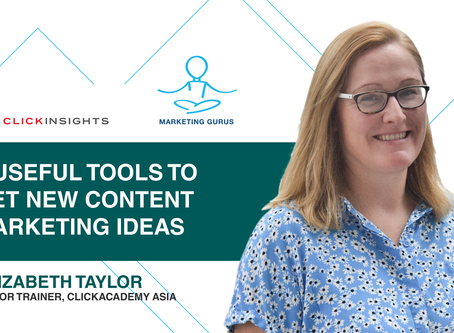 [Marketing Guru Video Series] 3 Useful Tools To Get New Content Marketing Ideas