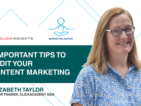 [Marketing Guru Video Series] 3 Important Tips to Audit Your Content Marketing