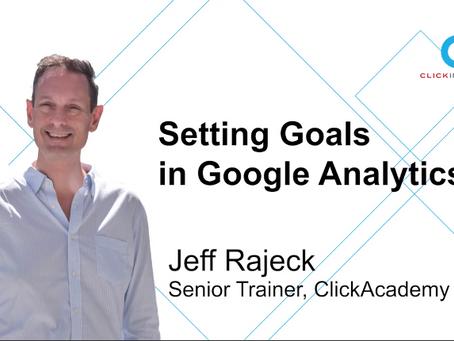 [Marketing Guru Video Series] Setting Goals in Google Analytics