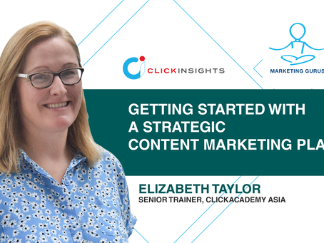 [Marketing Guru Video Series] Getting Started with a Strategic Content Marketing Plan