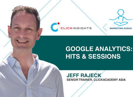 [Marketing Guru Video Series] Google Analytics: Hits & Sessions