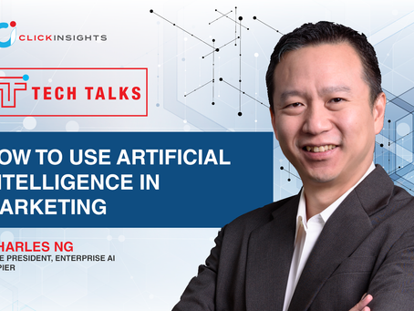 [Tech Talks] How to Use Artificial Intelligence in Marketing