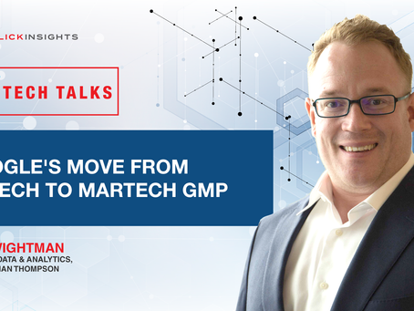 [Tech Talks] Google's Move From AdTech to MarTech: Google Marketing Platform