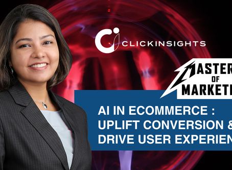 [Masters of Marketing] Using AI in Ecommerce: Uplift Conversion & Drive User Experience