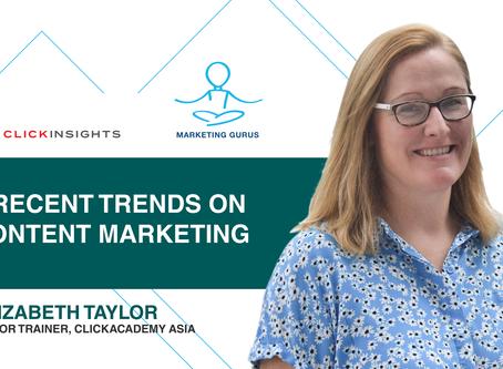 [Marketing Guru Video Series] 3 Recent Trends in Content Marketing