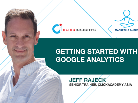 Marketing Guru Video Series - Getting Started with Google Analytics