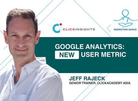 [Marketing Guru Video Series] Google Analytics: New User Metric