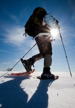 Snowshoes o Snæfellsjökull