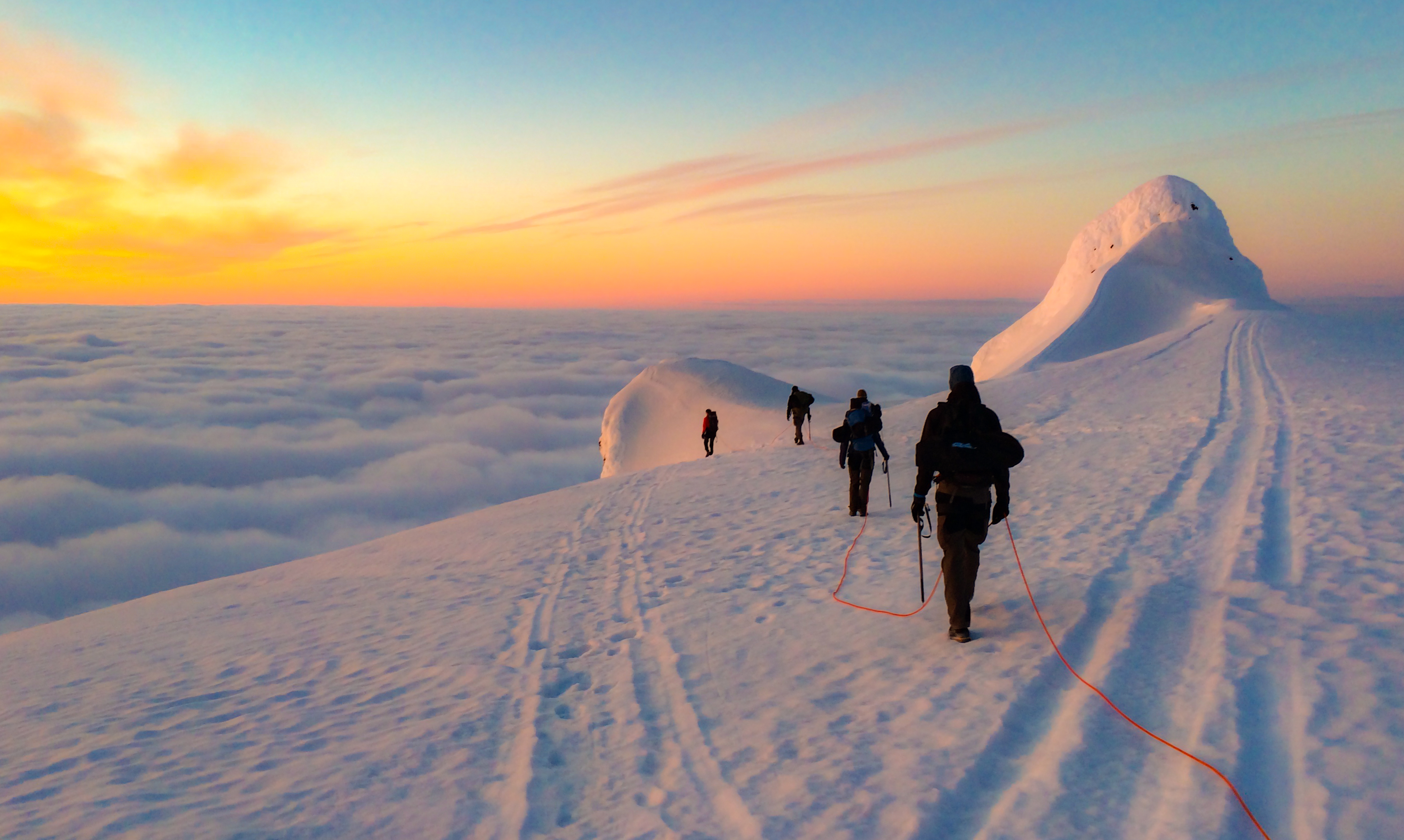 Snæfellsjökull Summit