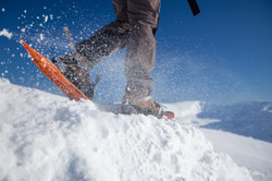 Snowshoes on Snæfellsjökull