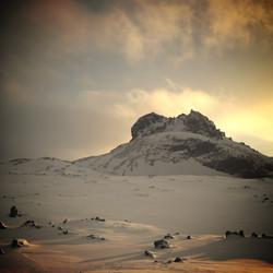 Hreggnasi Mountain - Snowshoe Hike