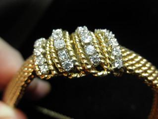 Jewelry now in stock    Beautiful Geneve Diamond Bracelet watch