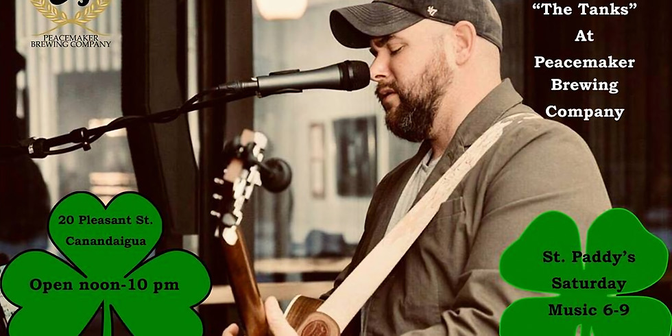 """Nate Michaels St. Paddys Saturday Live from """"The Tanks"""""""