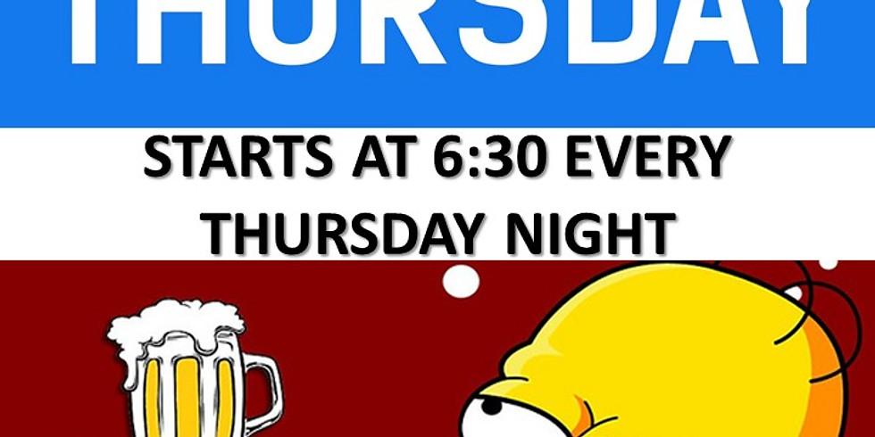 Thursday is Trivia Night!