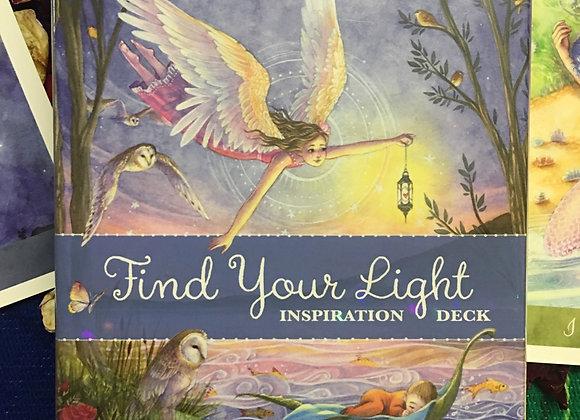 Find Your Light Inspirational Deck