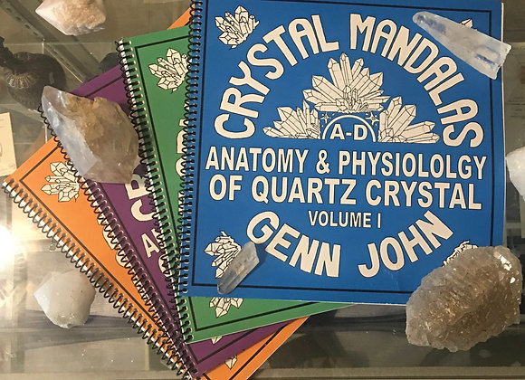 Crystal Mandalas AUTOGRAPHED Set Vol 1-4